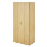 Bega Base 80cm Drehtürenschrank in Buche-Nachbildung für 65,99€ (statt 89€)
