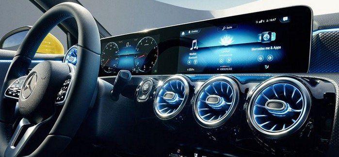 Mercedes Benz A180 Widescreen Cockpit Edition 19 mit 136PS für 257€ mtl.   LF 0,78