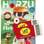 52 Ausgaben HÖRZU + 2 UCI Kino-Gutscheine (auch Überlänge) für insgesamt 14,90€