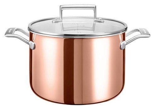 KitchenAid Kupfertopf 24cm für 85,90€ (statt 180€?)   mit 30 Jahren Garantie