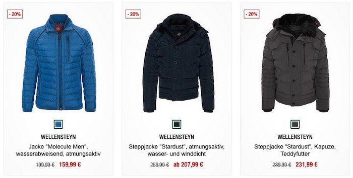 Winter is coming! Nur heute 20% Rabatt auf alle Wellensteyn Jacken bei Galeria Kaufhof