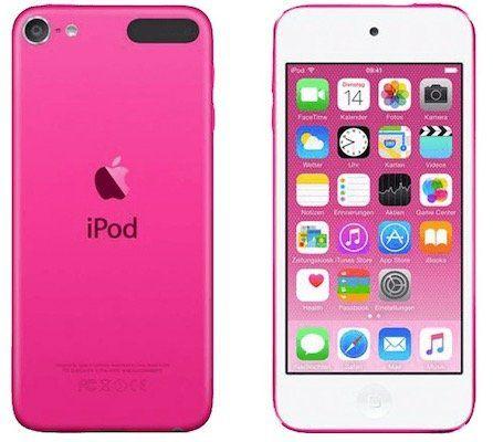 Apple iPod touch 6G 32GB in Pink für 129€ (statt 213€)