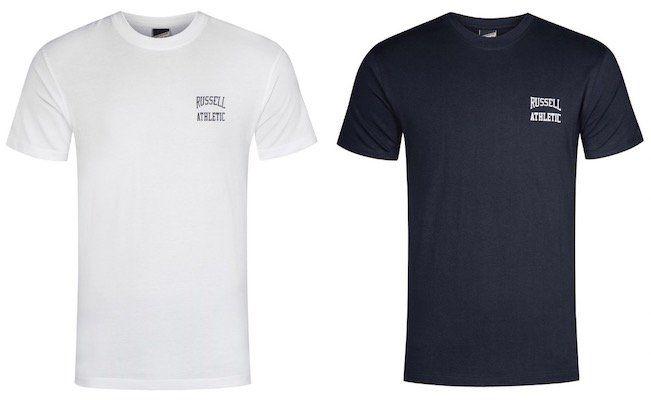 Russell Athletic Logo Crew Neck T Shirts für je 2,22€ zzgl. VSK (statt 10€)