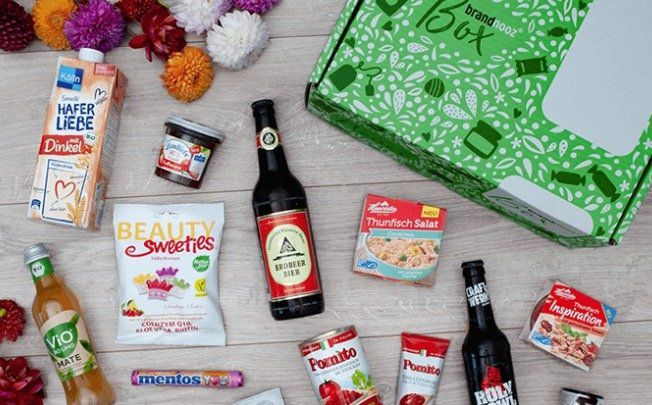 brandnooz Classic Box (10 12 Markenprodukte im Wert von mind. 18€) für 6,39€