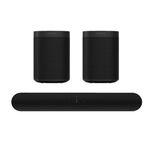 Sonos Beam Soundbar inkl. 2x Sonos One Lautsprecher für 744€ (statt 799€)