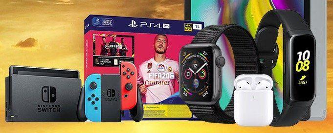 PS4 Pro inkl. Fifa 20 für 44€ oder Apple Watch Series 4 44mm für 77€ + Vodafone Flat mit 7GB LTE ab 19,99€mtl.