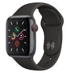 Ausverkauft! Apple Watch Series 5 GPS + LTE 40mm für 443,45€(statt 539€)