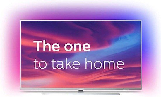 Philips 55PUS7304   55 Zoll UHD Fernseher mit 3 seitigem Ambilight für 499,90€(statt 657€)