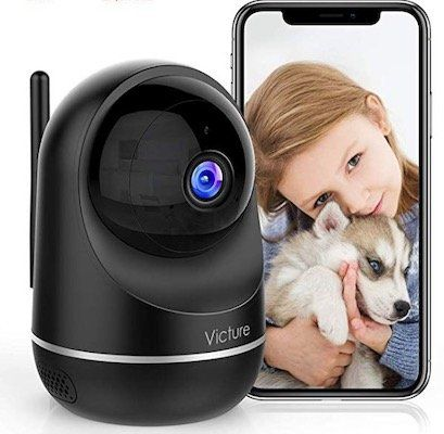 Victure 1080P Überwachungskamera mit IR Nachtsicht für 29,99€(statt 50€)