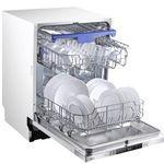 Midea SV 7.60 vollintegrierbarer Geschirrspüler mit Besteckschublade für 279,40€ (statt 403€)