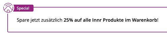 Tink: Innr Artikel (Echo kompatibel) im Sale   zusätzlich 25% Direktabzug im Warenkorb