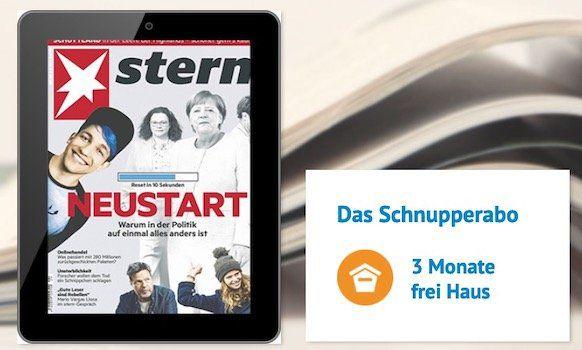 Knaller🔥 Stern 13 Ausgaben e Paper vollkommen gratis   direkt auf 0€ reduziert (statt normal 40,04€)