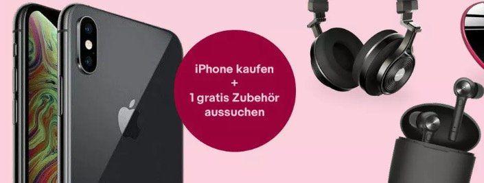 eBay: iPhone kaufen (neu oder gebraucht) und Zubehör im Wert von 20€ gratis dazu
