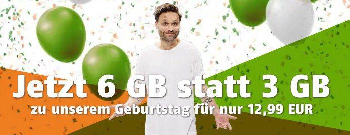 Nur noch heute! Telekom Allnet Flat mit 6GB LTE ab 12,99€mtl.
