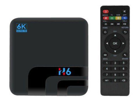 H6 Smart Android TV Box mit 2GB Ram + 16GB Speicher für 29,99€   Versand aus DE