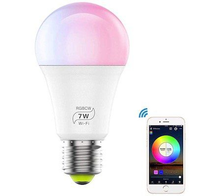 HaoDeng WLAN Smart LED 7W Lampe mit E27 Sockel für 10,49€ (statt 15€)   Prime