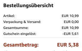 3er Pack iPhone 11/Pro/Max Panzerglas Schutzfolien ab 5,38€ (statt 11€)