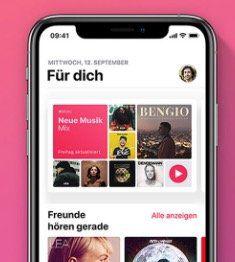 4 Monate Apple Music gratis für Neukunden bei MediaMarkt