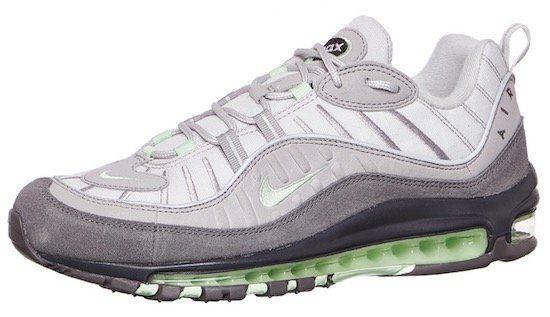 Nike Air Max 98 Fresh Mint für 81,87€ (statt 117€)