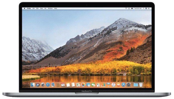 Apple MacBook Pro 15,4 2018 (Core i7 mit 16GB, 256GB SSD und Touchbar) für 2.099€ (statt 2.379€)