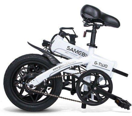 E Bike von Samebike 14 faltbar (250 Watt, 25km/h) für 488,99€   Versand aus DE