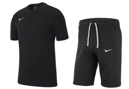 2teiliges Nike Freizeit Outfit Team Club 19 T Shirt und Shorts für 27,95€ (statt 37€)