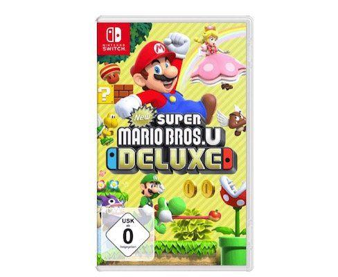 New Super Mario Bros U: Deluxe (Switch) für 37€(statt 48€)