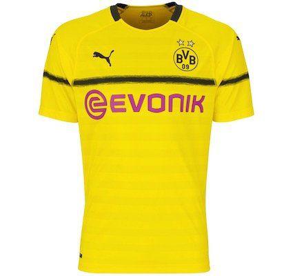 BVB Borussia Dortmund Europapokal Trikot 18/19 für 14,98€ (statt 30€)   S, M, L