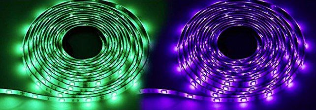 30% Rabatt auf Hengda RGB LED Stripes in vielen Größen inkl. Fernbedienung z.B 2m für 7,69€ (statt 11€)