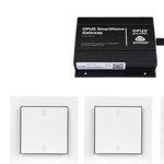 15% Rabatt auf OPUS Smart Home – z.B. Gateway + 10 Lichtschalter für 816€ (statt 960€)