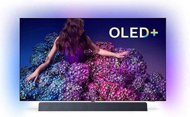 Philips 55OLED934   55 Zoll OLED UHD Fernseher mit Dolby Atmos Soundbar für 1.999€