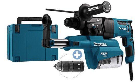 Makita HR2651TJ SDS+ Bohrhammer mit Staubabsaugung für 185,90€ (statt 225€)