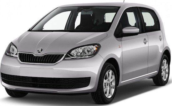 Skoda Citigo Elektro Wagen mit 83 PS im Leasing für 143€mtl. brutto   LF: 1,05