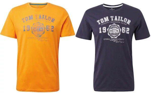 3er Pack Tom Tailor Logo T Shirts in Regular Fit für 20,97€ (statt 30€)