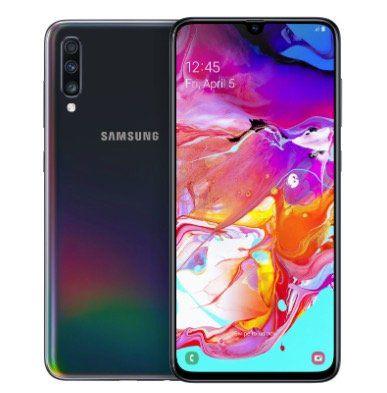 Samsung Galaxy A70 Dual SIM Smartphone mit 128GB für 242,10€ (statt 319€)   Gebrauchtware