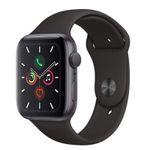 Apple Watch Series 5 GPS 44mm in spacegrau mit Aluminiumgehäuse für 439,90€ (statt 464€)