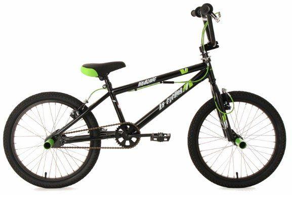 BMX Freestyle 20 Hedonic Bike in Schwarz Grün für 80,99€ (statt 130€)