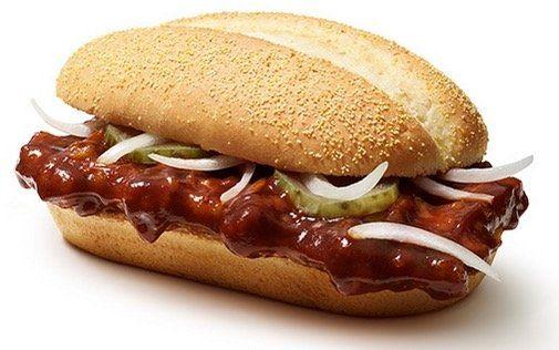 🍔 McRib und McWrap Chicken 🌯 für je 1,99€   ohne App oder Gutschein