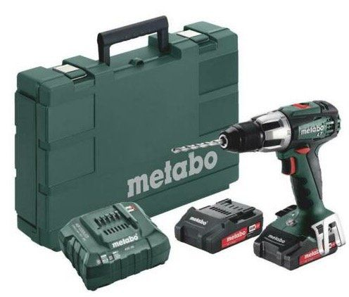 Metabo SB 18 LT Compact (2 x 2,0 Ah + Ladegerät + Koffer) für 116,10€ (statt 139€)