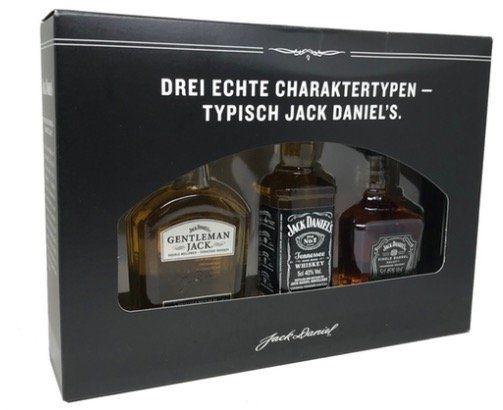 Jack Daniels Geschenkset (3 x 0,05l) für 13,99€ (statt 18€)