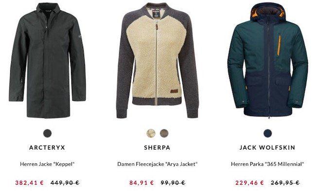 engelhorn Sports mit 15% Rabatt auf Jacken   z.B. Jack Wolfskin 365 Millennial Parka für 224,46€ (statt 270€)