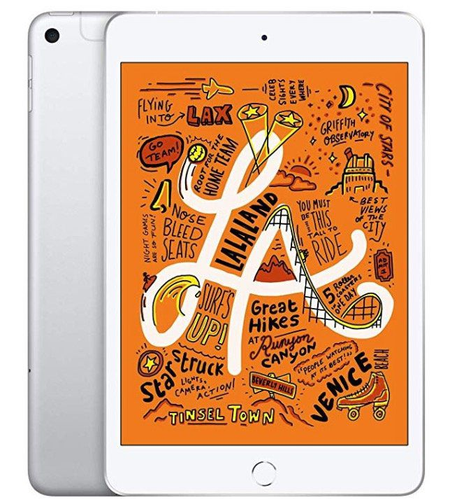 Apple iPad Mini (2019) 64GB mit LTE in Silber für 480,28€ (statt 528€)