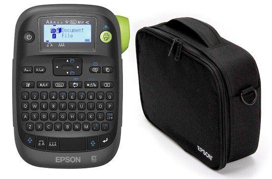 Epson LabelWorks LW K400 Etikettendrucker + Tasche für 34,90€ (statt 59€)