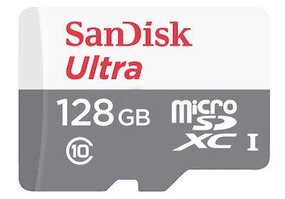 SanDisk Ultra MicroSDXC Speicherkarte 128GB für 15€ (statt 22€)