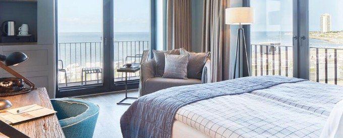 2 ÜN an der Nordsee im Superior Zimmer mit Balkon inkl. Frühstück, Minibar, Spa & Cocktail ab 158€ p.P.