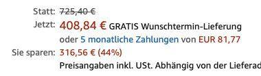 Vorbei! Hisense RS741N4AC2 Side by Side Kühlkombi mit NoFrost und A++ für 409€ (statt 657€)