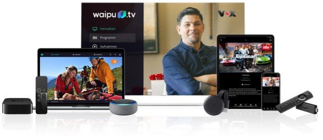 Letzte Chance: 12 Monate waipu.tv Perfect Streaming für 80,28€ (statt 120€)   33% Rabatt!