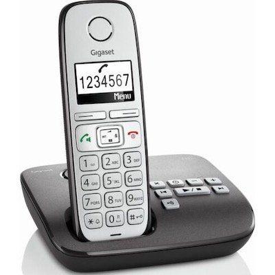 Gigaset E310A in Anthrazit mit Anrufbeantworter für 29,90€ (Statt 47€)