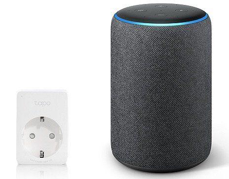 Amazon Echo Plus (2. Gen) Lautsprecher mit integriertem Smart Home Hub + smarte Steckdose ab 100,94€ (statt 150€)