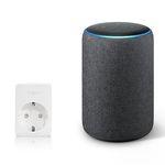 Amazon Echo Plus (2. Gen) Lautsprecher mit integriertem Smart Home-Hub + smarte Steckdose ab 100,94€ (statt 150€)
